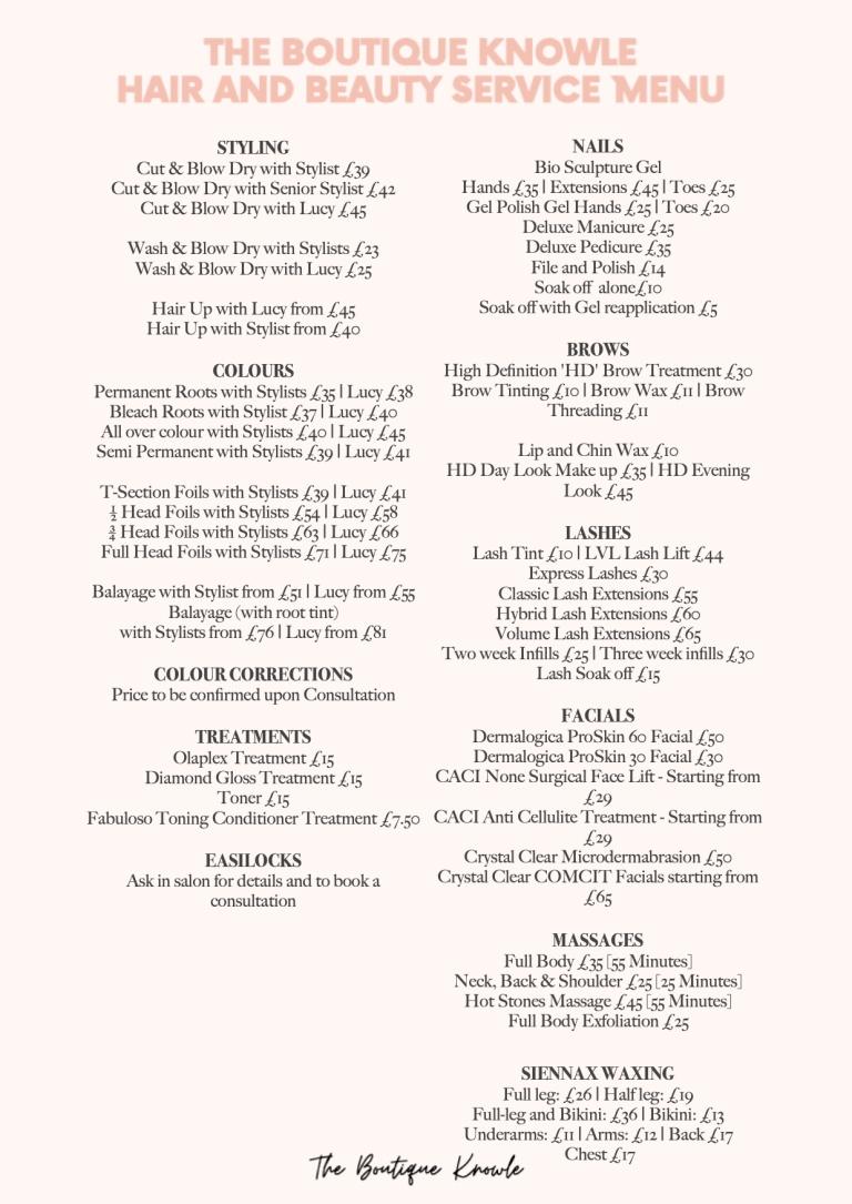 Price List (2)